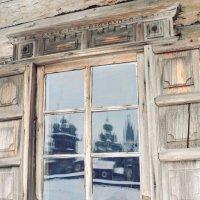 а у нас из окна красивая церковь видна :: Анна Копаевич