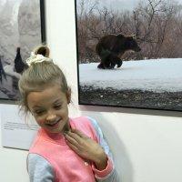 Автопортрет с медведем (Маша и медведь) :: Николай