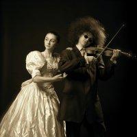 Скрипач и Муза :: Сергей Гайлит