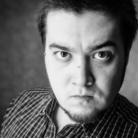 Автопортрет Angry :: Лукман Нуриахметов