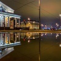 Отражение на Биржевой площади :: Valeriy Piterskiy