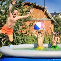 Полет в воду! :: Дина Микрюкова