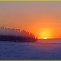 Раннее утро на Кенозерье :: Иван Клещин
