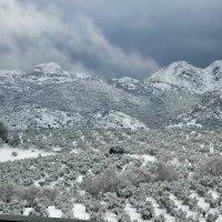 Горы вдоль Коста дель Соль, где никогда не бывает снега :: Ирина