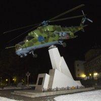 Ночной вертолет. :: Тамара Морозова