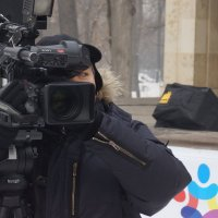 видео оператор на празднике :: Владимир Кропачёв