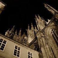 Прага, собор Святого Вита, ночью. 5 :: Владимир Барсуков