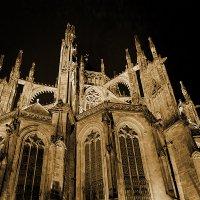 Прага, собор Святого Вита, ночью. 1 :: Владимир Барсуков
