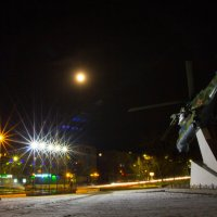 Ночной вертолет :: Тамара Морозова