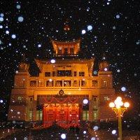 Снегопад :: Олег Фомин