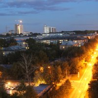 Екатеринбург.Вид из окна :: Наталия Руколеева