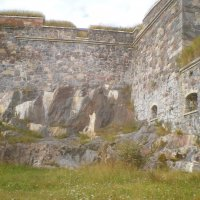 Каменные стены  крепости Свеаборг. Хельсинки.2012г. :: Мила