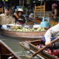Плавучие рынки Бангкока :: Дмитрий Боргер