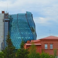 Город растет ввысь! :: Евгения Латунская