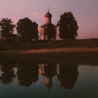 Храм Покрова на Нерли /из архива 70-х/ :: Цветков Виктор Васильевич