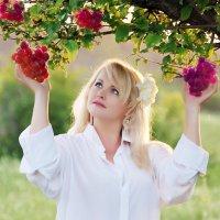 Я в райском саду! :: Алла Кочкомазова