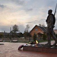 Молчалив солдат и печален. Он уходит в чужие дали... :: Ирина Данилова