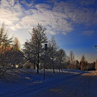 зимний пейзаж-3 :: Андрей Куприянов