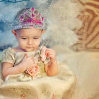 Снежная принцесса :: Наталия Карлинская