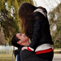 счастливая пара ) :: Федя Бурка