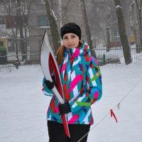 Олимпийский факел :: Светлана