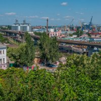 Вид с тёщенного моста :: Виталий Лень