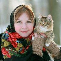 Девушка с котиком (IMG_6483_PP_CR_GOR) :: Виктор Мушкарин (thepaparazzo)