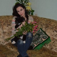 Котики-цветочки :: Марго Василенко