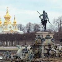 Когда фонтаны отдыхают... :: Романенко Людмила Ивановна