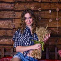 Букет пшеницы :: Ольга Тельнова