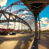 Большеохтинский мост 3 :: Александр Неустроев