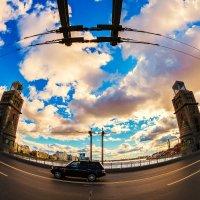 Большеохтинский мост 5 :: Александр Неустроев