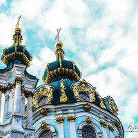 Церковь на Андреевском Спуске :: Олег Лопухов