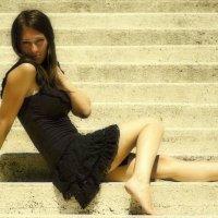 «Невеста была в черном и боса...» :: Alehandra A