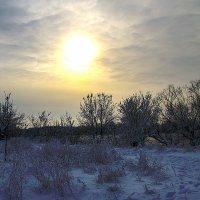 восход над рекой :: Дмитрий Корсуков