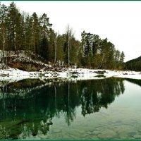 Водобойное озеро Катуни. :: Владимир Михайлович Дадочкин