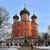 моя столица .донской монастырь(патриарший) Москва(главный собор) :: юрий макаров