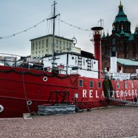 The red steamboat :: Sergey Oslopov
