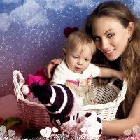 Маша с Авророй :: Solomko Karina