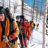 На лыжне :: Сергей Карцев