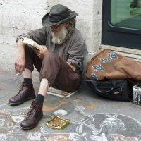 Случайный портрет, Борода и шляпа :: Юрий Казарин