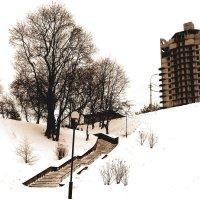 зимний город :: Юлия Лапицкая-Ивановская