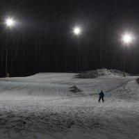 Вечерний лыжник :: Мария Арбузова