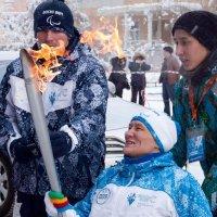 Паралимпийский огонь г Якутск. :: Айаал дьяконов