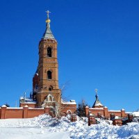 Храм на горе :: Евгений Алябьев