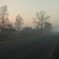 В деревеньке на рассвете :: Сергей Круглов