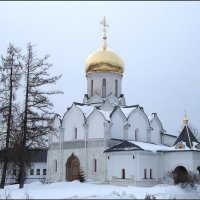 Саввино-Сторожевский монастырь, собор Рождества Пресвятой Богородицы :: Ирина Голубева