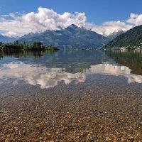 Озеро в австрийских Альпах :: Олег Вайднер