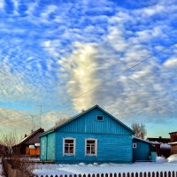 Дом и облака :: Александр Преображенский