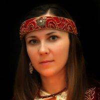 портрет девушки 1 :: виктор омельчук